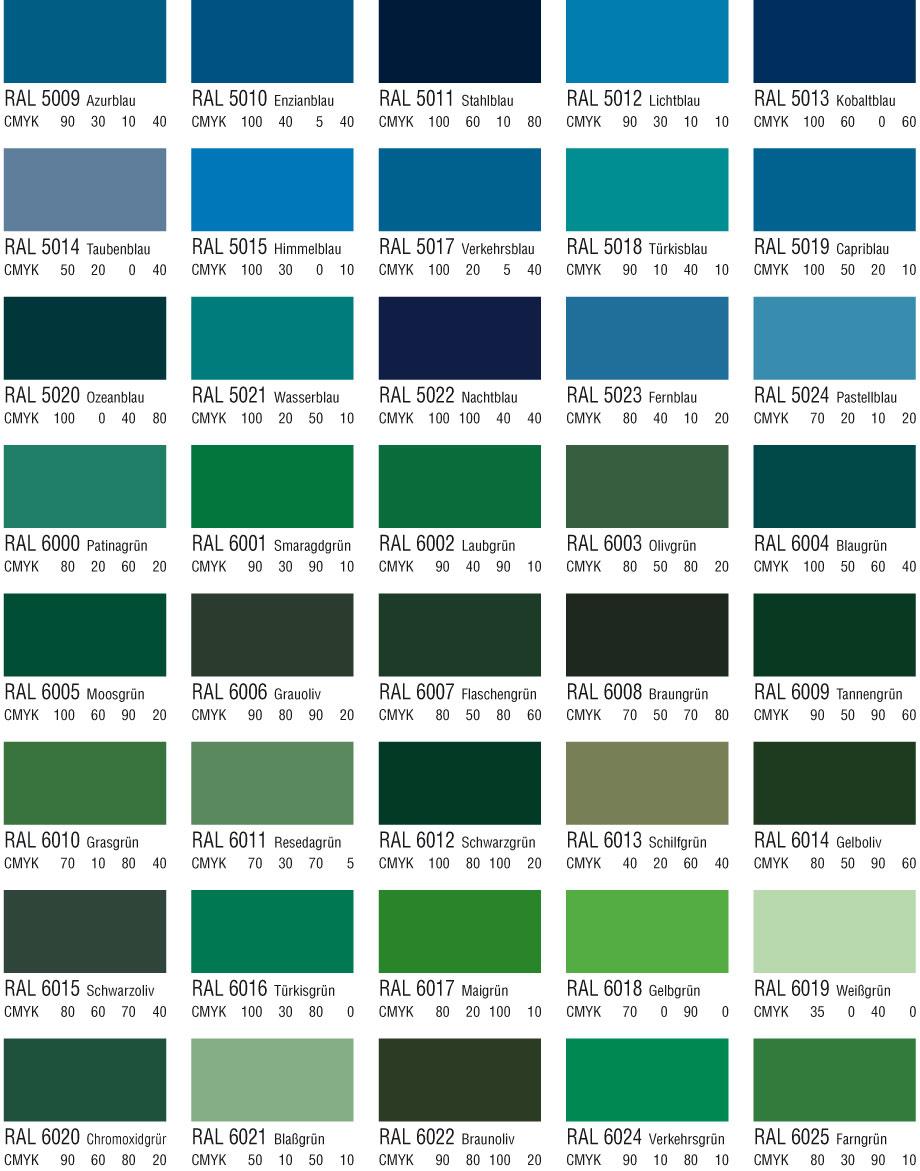 Infoport farben for Tabella colori per pareti interne